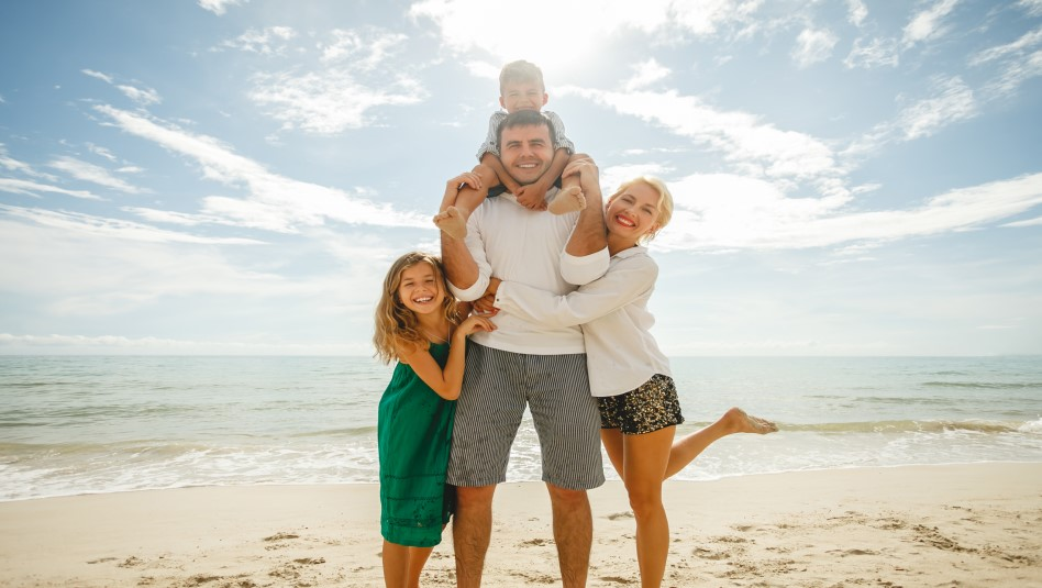 זה הזמן לגלות מה היא החופשה המושלמת ביותר למשפחה שלכם. צילום: depositphotos