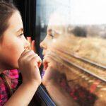 נסיעה באירופה ברכבת עם הילדים