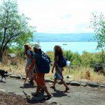 """מגשר אריק לכפר נחום: מסלול טיול משפחתי מומלץ ב""""שביל סובב כינרת"""""""