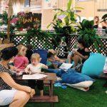 קיץ טרופי משפחתי: בקניון רמת אביב הוקמו מתחמי פנאי לגילאים שונים