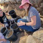 גן לאומי כורזים: משפחה מצאה ממצא ארכיאולוגי משמעותי בחפירות באתר