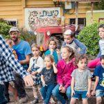 סוכות למשפחות באתרי עמק המעיינות