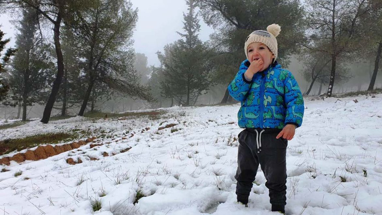 החורף כאן במלא עוזו אך לא נוותר על הטיול בשבת