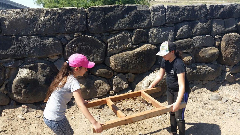 גילויים ארכיאולוגיים נדירים חדשים באזור הכנרת