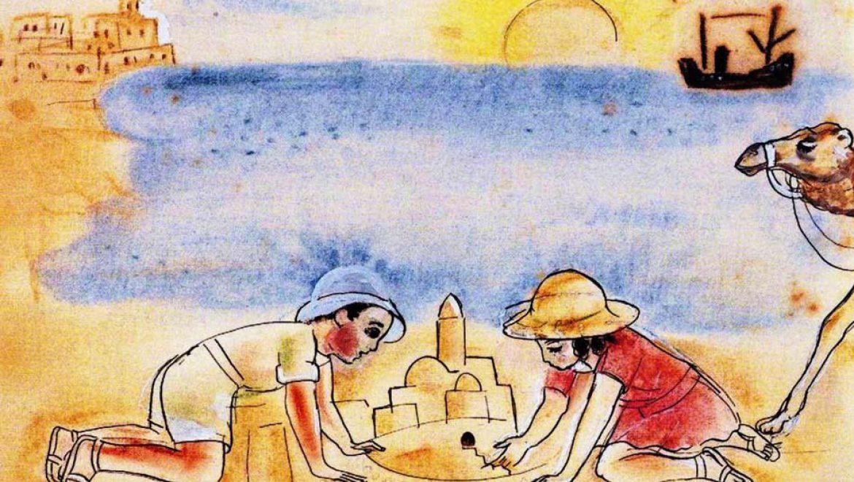 סדנאות ילדים בחגי תשרי, במוזיאון נחום גוטמן לאמנות