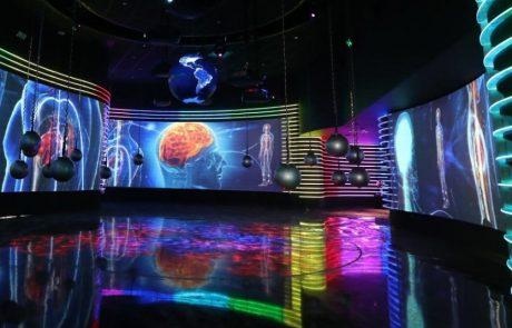 מרכז המבקרים החדש של חב' החשמל, מזמין לחוויה אינטראקטיבית