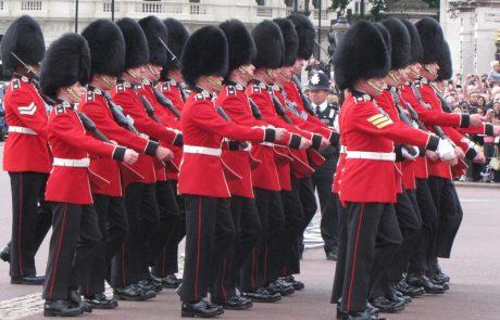 השומרים ששומרים על המלכה ועד אטרקציות לילדים בלונדון