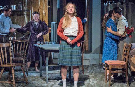 """ההצגה """"יומנה של אנה פרנק"""" מועלית לכבוד יום השואה והתקומה"""
