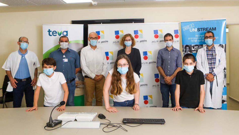 ילדי הרופאים במיזם הוקרה מרגש לצוותים הרפואיים