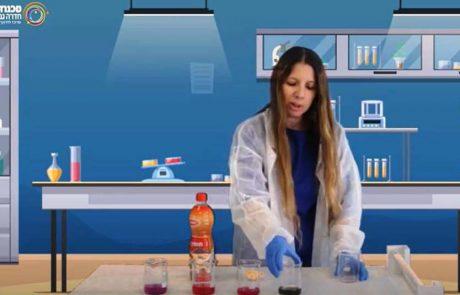"""ניסוי """"מי הכרוב"""": תרגיל מגניב להכרת השוני בין חומר בסיס וחומצי"""